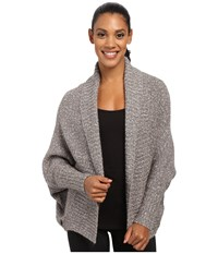 Lole Tora Cardigan Dark Charcoal Women's Sweater Gray