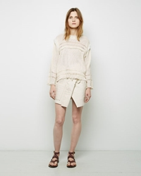 Isabel Marant Ariana Skirt Dark Rust