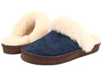 Ugg Aira Navy Suede Women's Slip On Shoes Blue