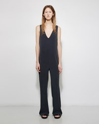 Nomia V Neck Jumpsuit Slate