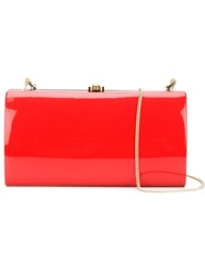 Rocio 'Anabelle' Clutch Red