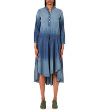Nsf Caleb Denim Dress Moon Indigo