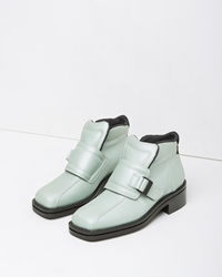 Acne Studios Ryker Metallic Bootie Mint Green