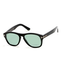 Tom Ford Tom N.7 Private Collection Real Horn Rounded Rectangle Frames Black