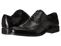 Stacy Adams Stockwell Wingtip Oxford Black Men's Lace Up Wing Tip Shoes
