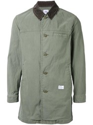 Bedwin And The Heartbreakers Long Shirt Jacket Green