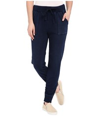 Splendid Indigo Bottom Vintage Dark Wash Women's Casual Pants Black