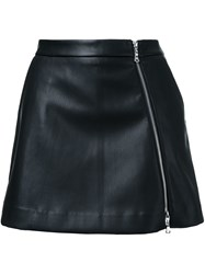 Guild Prime Faux Leather Mini Skirt Black