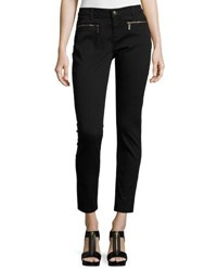 Michael Michael Kors Zip Pocket Skinny Jeans Black