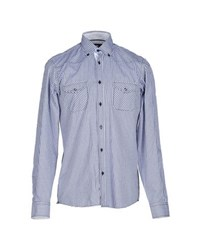 Armata Di Mare Shirts Shirts Men Blue