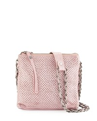 Day And Mood Burke Perforated Leather Crossbody Bag Rose Pink