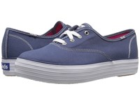 Keds Triple Core Navy Women's Lace Up Casual Shoes