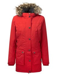 Tog 24 Farley Womens Milatex Parka Jacket Red