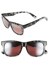 Women's Maui Jim 'Snapback' 53Mm Sunglasses Grey Tortoise Maui Rose
