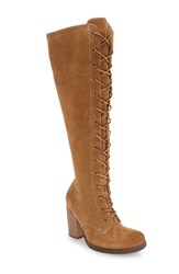 Latigo Women's 'Frederica' Tall Boot Cognac Suede