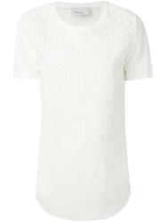 3.1 Phillip Lim Embroidered Boxy T Shirt