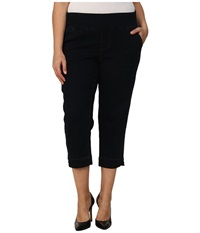 Jag Jeans Plus Size Hope Pull On Crop Narrow Fit In After Midnight After Midnight Women's Jeans Black