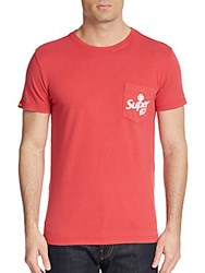 Superdry Swirl Graphic Tee Red