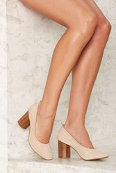 Grey City Sam Ballet Heel Beige