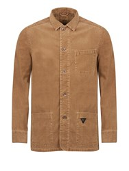 Realm And Empire Lightweight Unlined Corduroy Jacket Brown