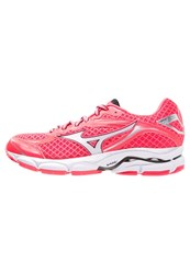 Mizuno Wave Ultima 7 Cushioned Running Shoes Diva Pink White Royal Purple
