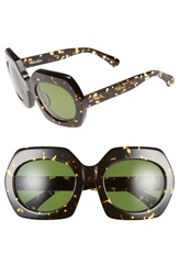 Steven Alan 'Montague' 54Mm Retro Sunglasses Tribeca Tortoise