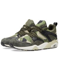 Puma X Sneakersnstuff Blaze Of Glory 'Swedish Camo' Green