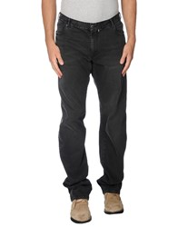 Paul And Shark Denim Denim Trousers Men Black