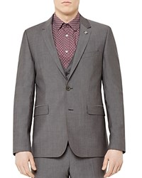 Ted Baker Lotjac Regular Fit Sport Coat Gray