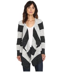 Volcom Channeling Wrap Black Combo Women's Long Sleeve Pullover