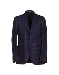 Tombolini Suits And Jackets Blazers Men Dark Blue