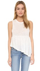 Jack By Bb Dakota Casper Top Off White