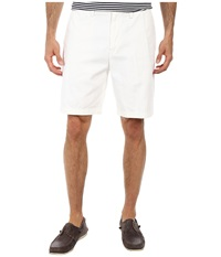 Nautica True Khaki Flat Front Short Bright White Men's Shorts