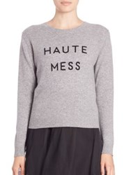 Milly Haute Mess Cashmere Sweater