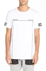 Zanerobe Men's 'Flintlock Dm' Longline Crewneck T Shirt