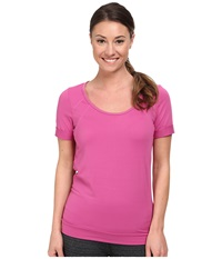 Lole Kai Top Dahlia Women's Short Sleeve Pullover Purple
