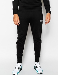 Blood Brother Sweatpants With Embroidered Logo Black