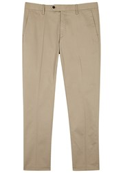 Nn.07 Theo Sand Stretch Cotton Chinos Beige