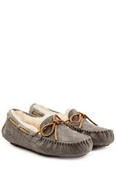 Ugg Australia Pewter Dakota Flats Grey