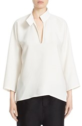 Women's Sofie D'hoore 'Broox' Silk Blouse