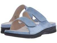 Drew Shoe Milan Ii Slate Blue Women's Sandals