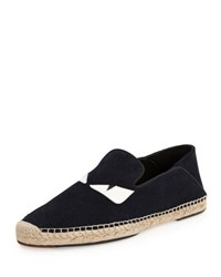 Fendi Monster Eyes Slip On Espadrille Black