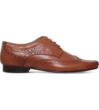 Kg By Kurt Geiger Bassie Leather Brogues Tan