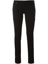Givenchy Contrast Panel Trousers Black