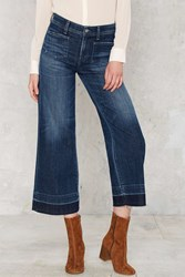 Nasty Gal A Gold E June Crop High Rise Flare Jeans