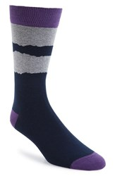 Ted Baker Men's London Elijah Organic Cotton Blend Socks