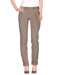 Paolo Pecora Casual Pants Beige