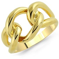 Marshelly's Jewelry Copula Ring 18K Gold Plated