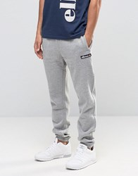 Ellesse Skinny Joggers With Large Logo Grey