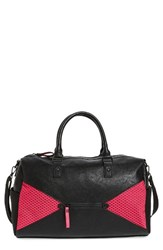 Poverty Flats By Rian Sport Duffel Bag Pink Pink Black